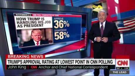 Lead King 1 new trump approval polls live _00002705