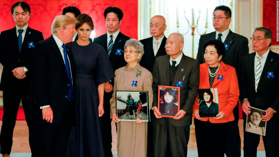 Trump to Kim: Returning abductees would be 'something very special'