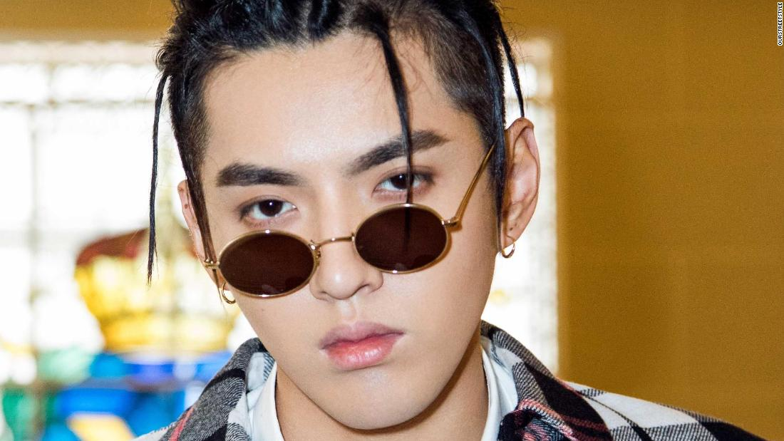 Chinese-Canadian artist Kris Wu
