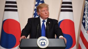 Trump tells North Korea: 'Do not try us'