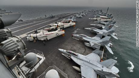 Rapid increase in coronavirus cases aboard United States aircraft carrier