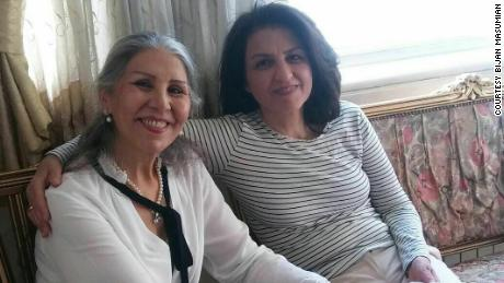 Sabet was recently reunited with Fariba Kamalabadi, another  Baha'i leader released from prison.