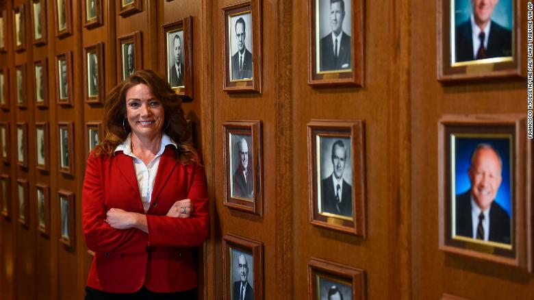 Michelle Kaufusi will be the first woman on Provo's wall of mayors.