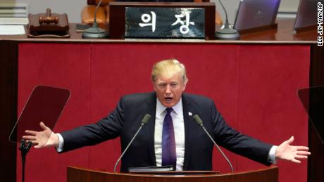 North Koreans react to Trump's speech