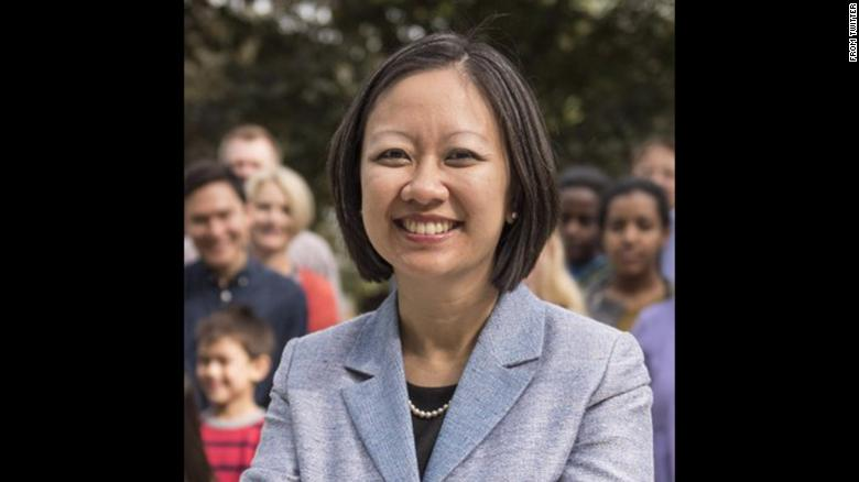 Kathy Tran was elected to the Virgina House of Delegates on Tuesday.