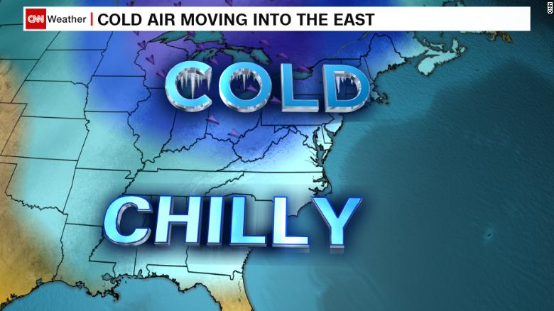 Record lows possible on East Coast