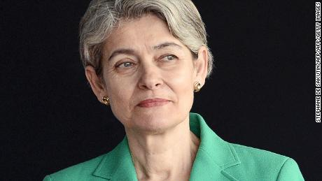UNESCO director-general Irina Bokova.