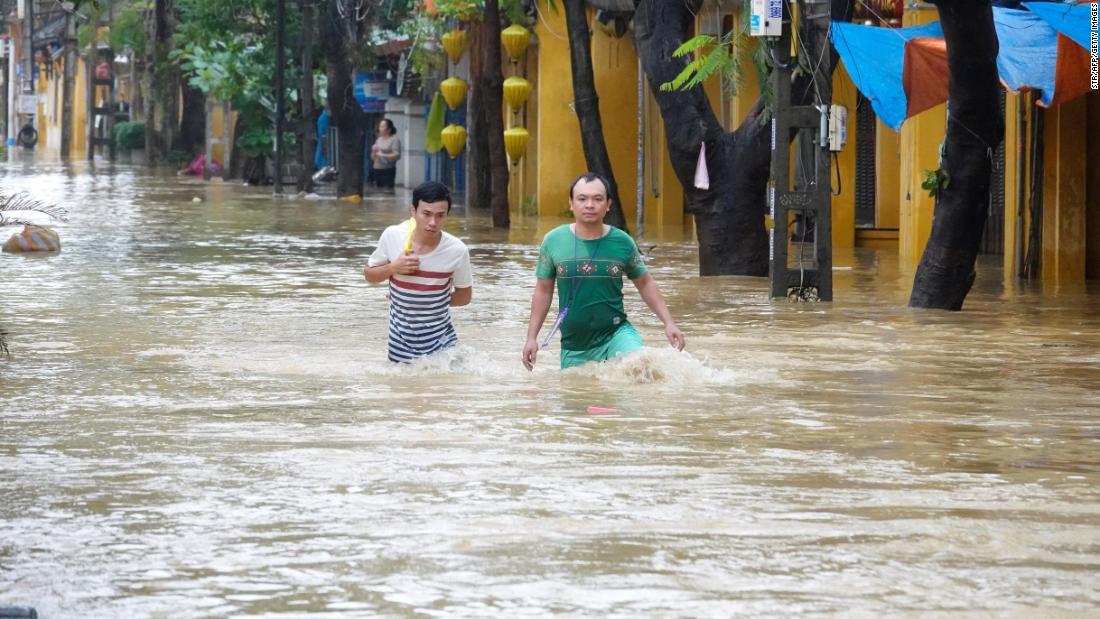 Dozens killed in Vietnam flooding days ahead of Trump's visit