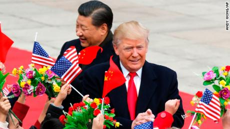 Trump blames US for trade gap with China