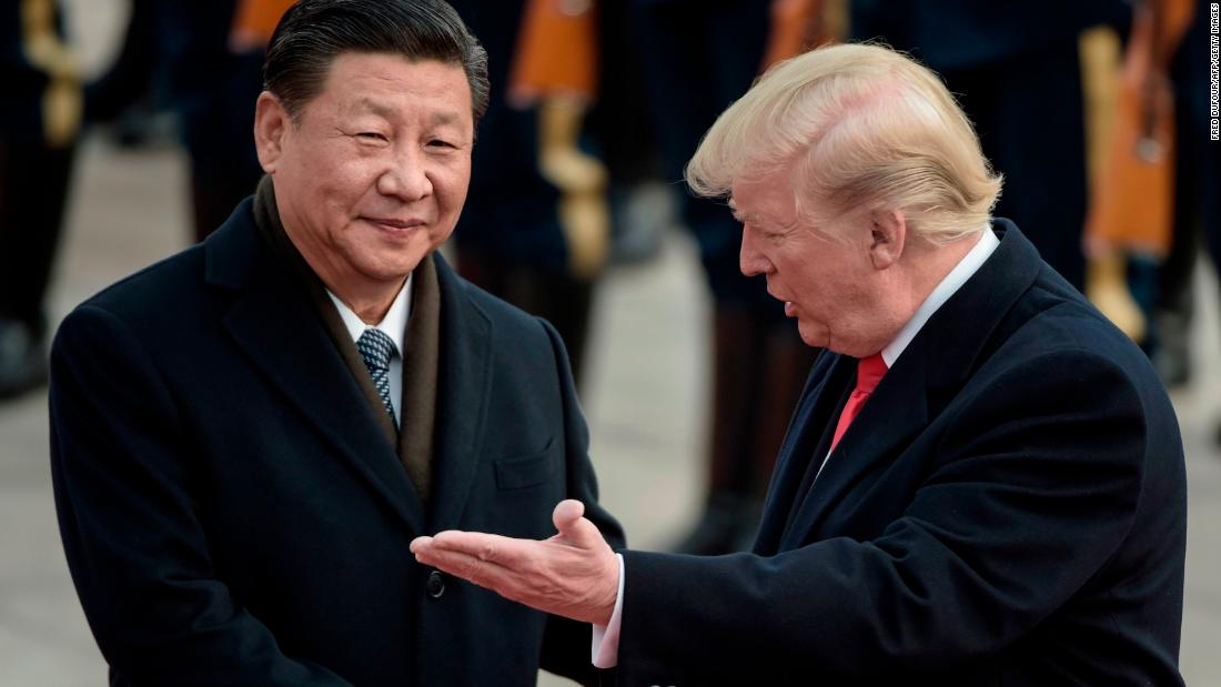 US slips behind China in new leadership poll