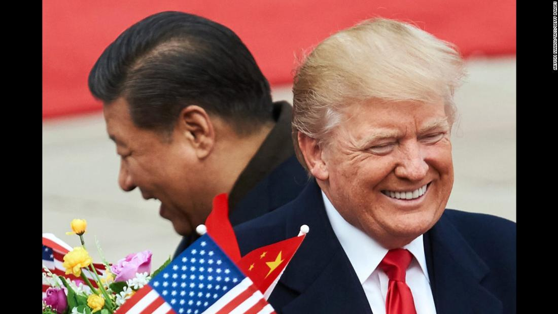 "Chinese President Xi Jinping and US President Donald Trump meet in Beijing on Thursday, November 9. The two <a href=""http://www.cnn.com/2017/11/08/politics/donald-trump-xi-jinping-statement/index.html"" target=""_blank"">huddled for hours</a> inside the Great Hall of the People, situated on the western edge of Tiananmen Square. China is the third stop on <a href=""http://www.cnn.com/interactive/2017/11/politics/trump-asia-tour-cnnphotos/"" target=""_blank"">Trump's Asia tour.</a>"