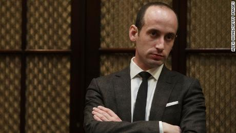 Stephen Miller's laugh-out-loud excuse for Trump's 'send her back' reaction