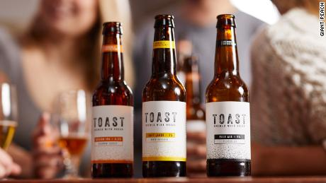 Toast Ale brews pale ale, craft lager, and Indian Pale Ale.