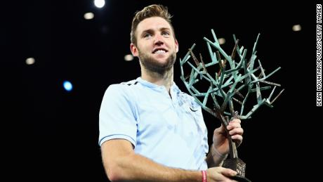 Jack Sock is first American to win in Paris since Andre Agassi in 1999 (Photo by Dean Mouhtaropoulos/Getty Images)