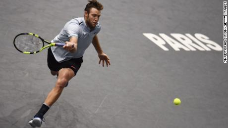Jack Sock's performance in Paris earned him a shot at the World Tour Finals (Photo by Christophe Simon/Getty Images)