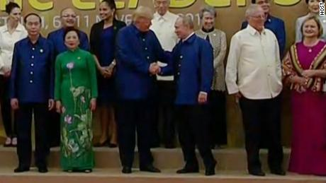 President Trump attends the APEC gala dinner in Da Nang 7:50a: President Trump's scheduled arrival RX 763 SOURCE: HOST   8:00a: Dinner & Cultural Performance. Toast by Vietnamese President Tran Dai Quang RX 763 SOURCE: HOST