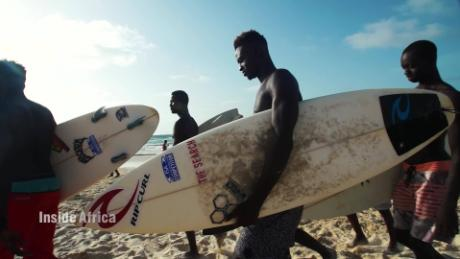 Inside Africa How 'Endless Summer' put Senegal on the surf map A_00000927