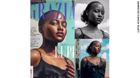 Actress Lupita Nyongío has called out Grazia UK magazine for editing her hair to ìfit a more Eurocentric notion of what beautiful hair looks like.î In an Instagram post, the Oscar winner showed before and after pictures of how her hair had been changed. 