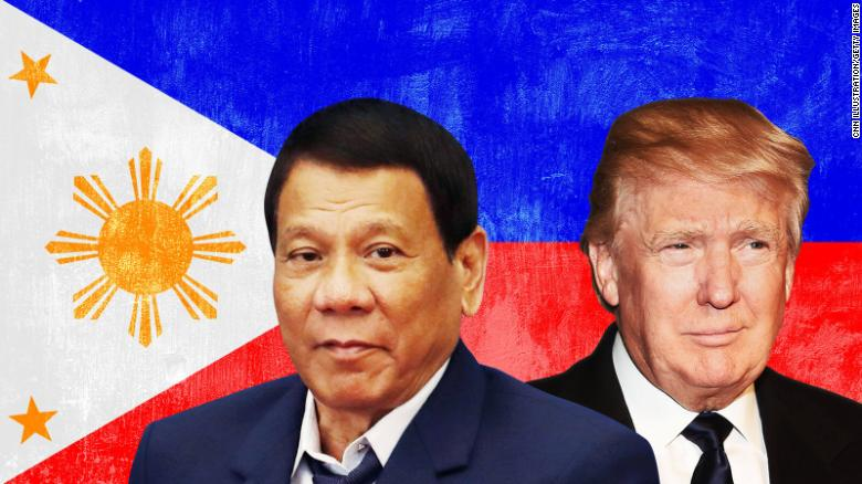 Trump seeks to strike diplomatic balance with Philippines' Duterte