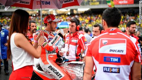 Iannone leads FP1 for MotoGP finale