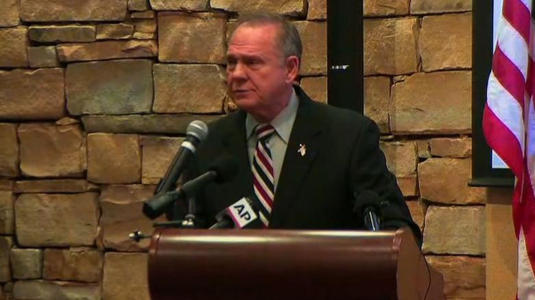 Roy Moore: Allegations are 'desperate attempt to stop my political campaign'
