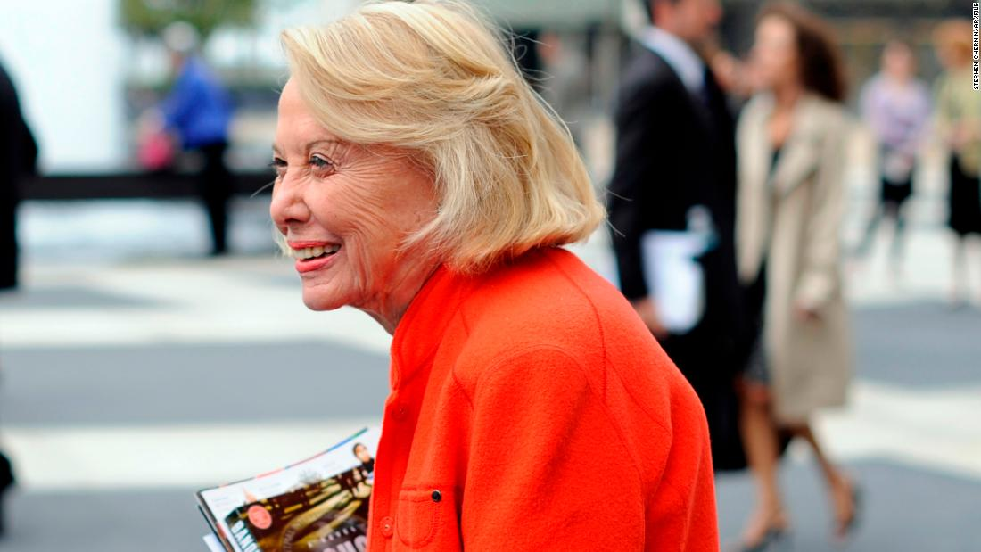 "Longtime<a href=""http://www.cnn.com/2017/11/12/us/liz-smith-obit/index.html"" target=""_blank""> gossip columnist Liz Smith</a>, who started her column at the New York Daily News in 1976, died on Sunday, November 12, according to the newspaper. She was 94. Known affectionately as the ""the Grand Dame of Dish,"" Smith's legendary work included a chronicle of Donald and Ivana Trump's divorce, which made front-page news."