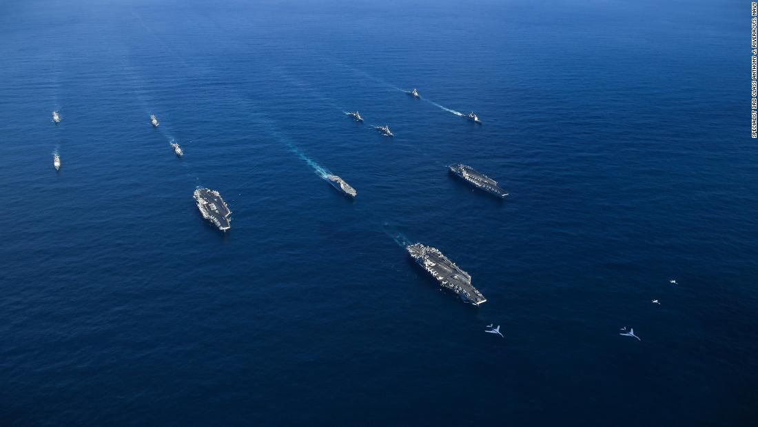 North Korea: 3 US aircraft carriers creating 'worst ever' situation