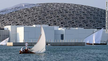 The Swiss journalists had traveled to the UAE to cover the opening of The Louvre Abu Dhabi, a $1 billion project.