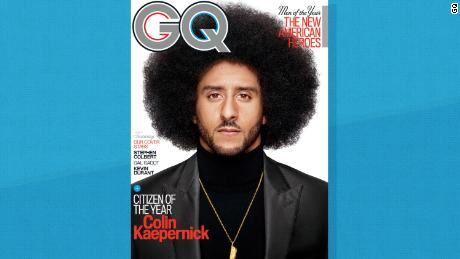 "Kaepernick and GQ want to ""reclaim the narrative of his protest"""