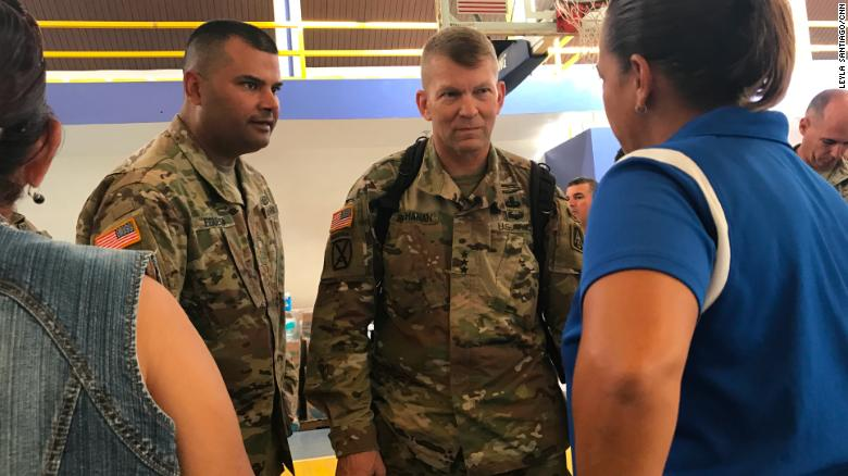 Top US commander pulling out of Puerto Rico