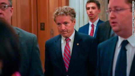Rand Paul returns to Senate after injuries, says 'no justification' for attack