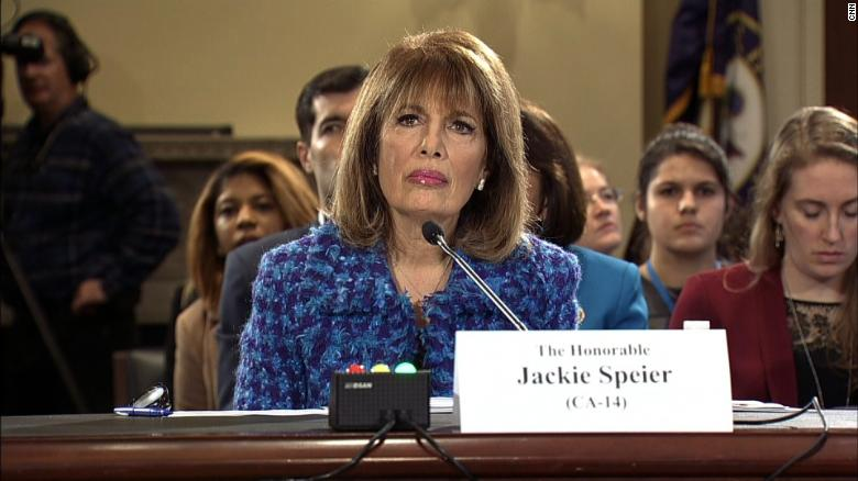 Rep. Speier: Victims assaulted on House floor