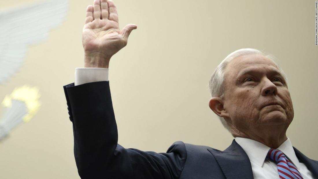 The huge contradiction at the heart of Jeff Sessions' Russia explanation