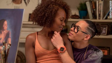 DeWanda Wise, Anthony Ramos in 'She's Gotta Have It'