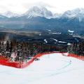 Lake Louise resort guide Lindsey Vonn jump