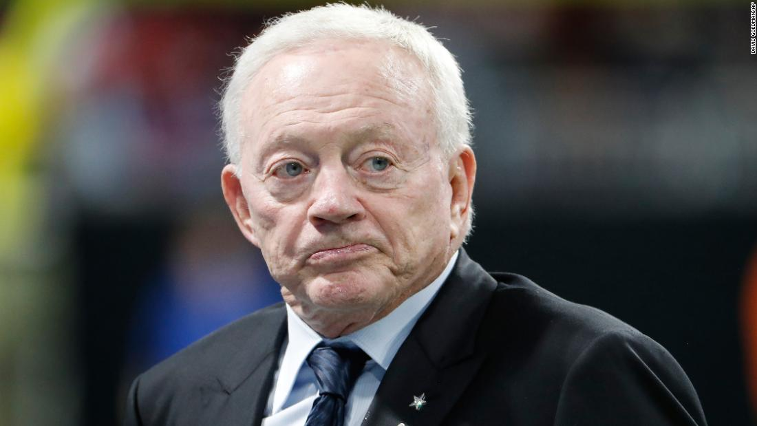 Jerry Jones on beef over Roger Goodell's contract