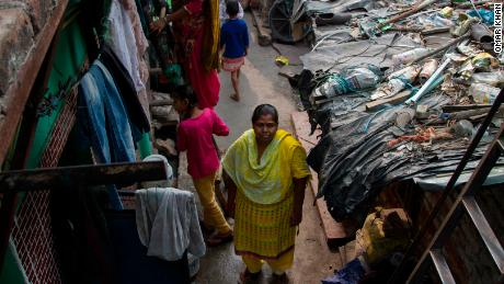 """So many of the health problems we're currently facing is because of the pollution,"" said Shobha Singh, Ravidass Slum resident"
