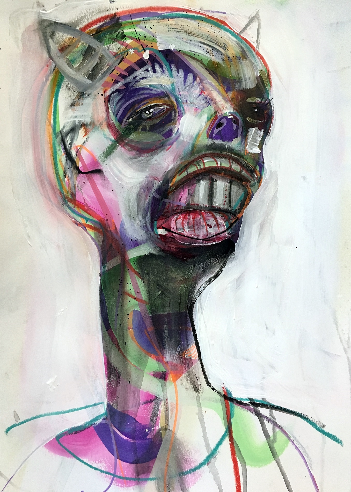Modern Art Depicting Illness