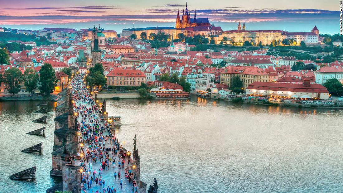 Which European city is the most affordable to visit?