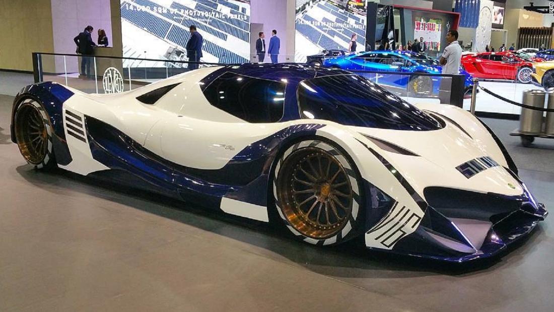 '300mph' Devel Sixteen hypercar unveiled - CNN