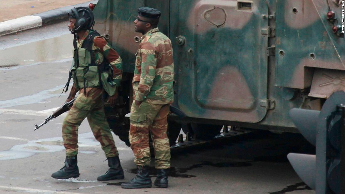 Zimbabwe Mugabe Photographed In Talks With Military Cnn