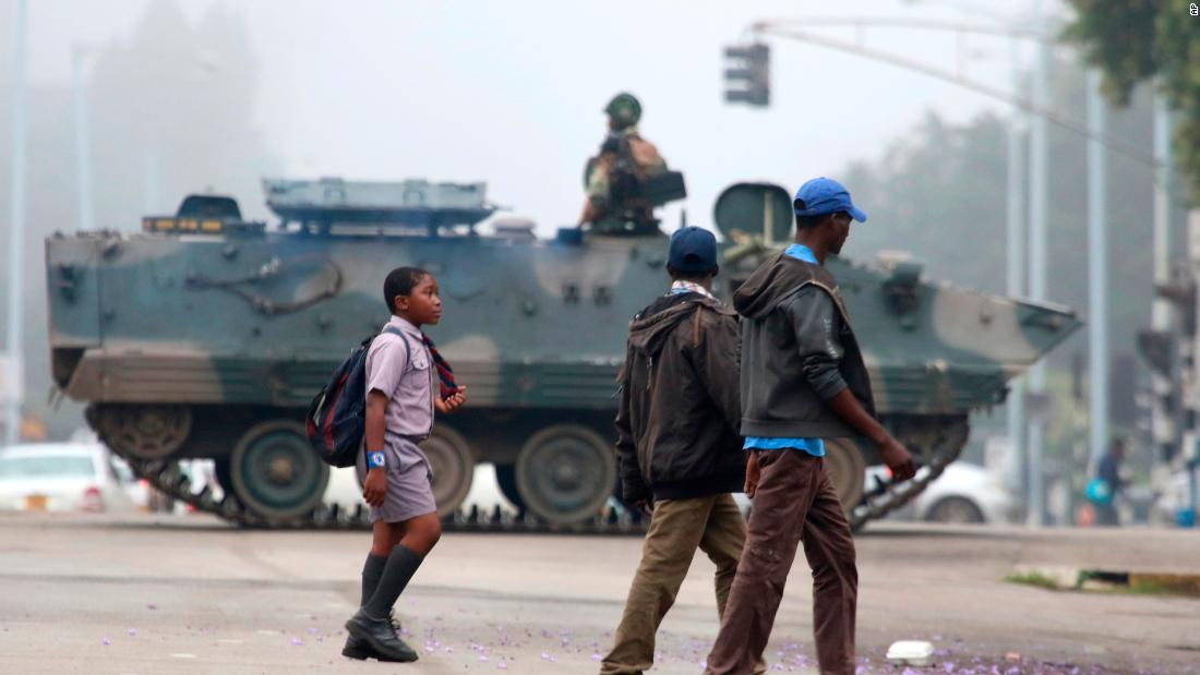Zimbabwe is under military control as army seizes power