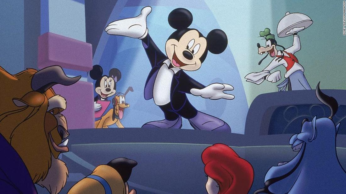 """House of Mouse"" was an animated TV show that aired in 2001."