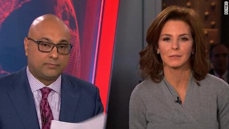 Ali Velshi and Stephanie Ruhle appear on MSNBC.