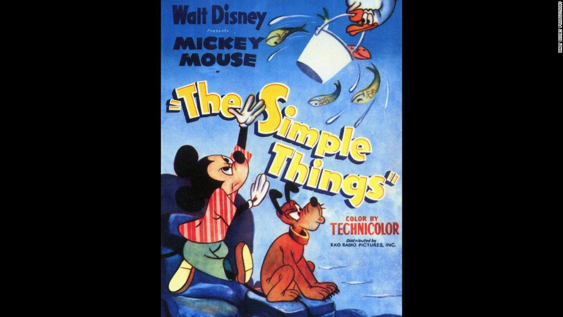 """The Simple Things"" in 1953 was the last regular installment of the Mickey Mouse film series."