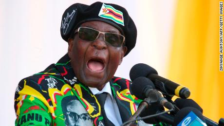 Zimbabwe's President Robert Mugabe has just resigned