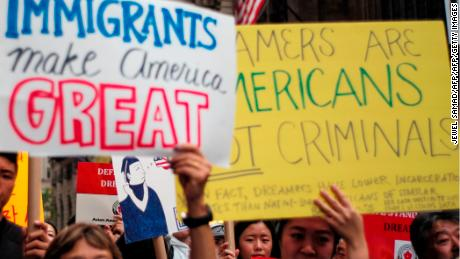 Four possible DACA options as clock ticks