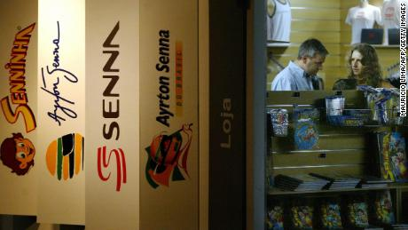 Senna's brand is still big business 23 years after his death