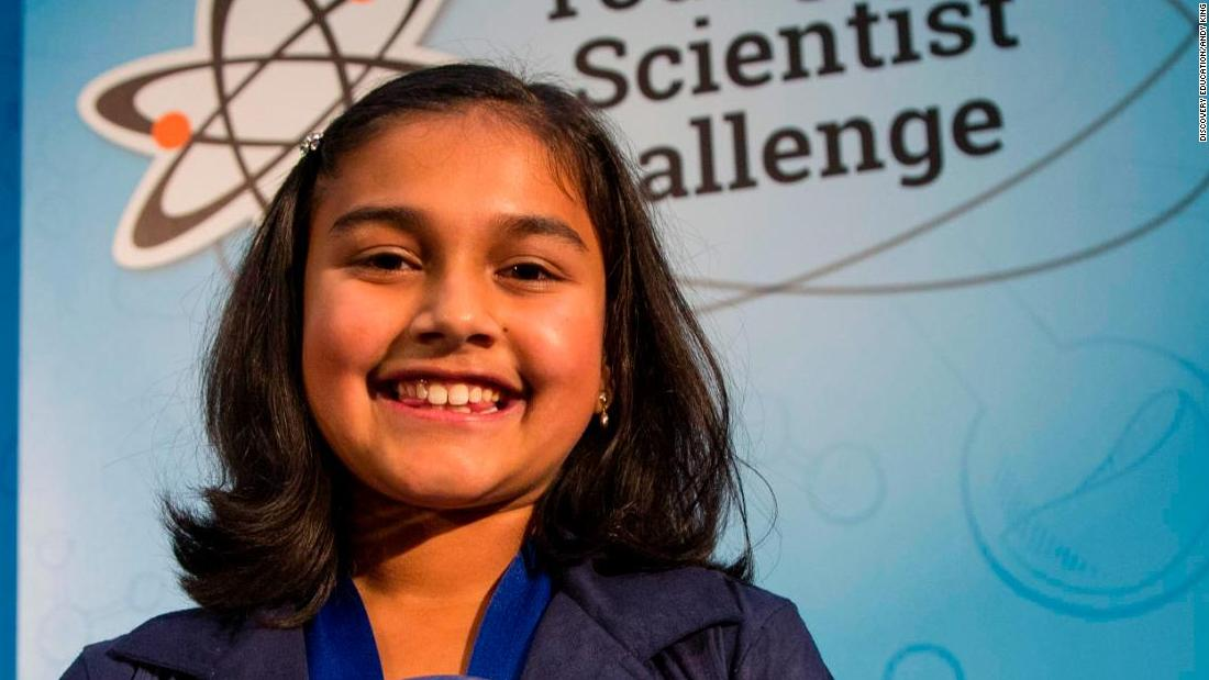 The 11-year old who won a $25,000 science prize