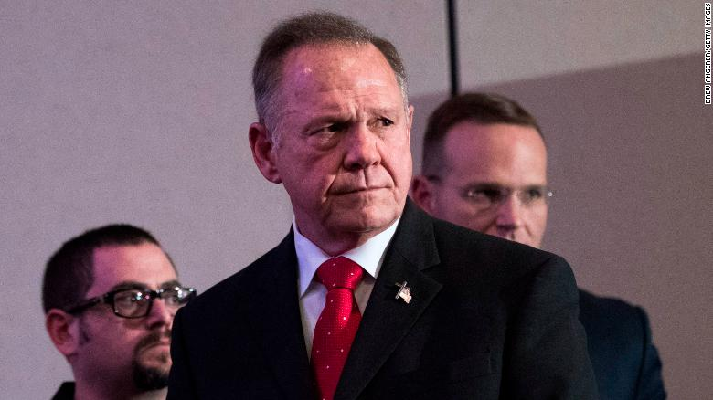 Trump backs Alabama candidate Roy Moore